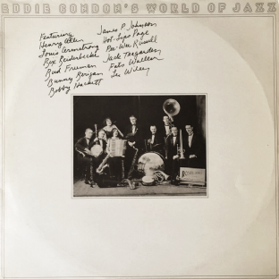 V/A ‎- Eddie Condon's World Of Jazz (LP) (EX-/VG-)